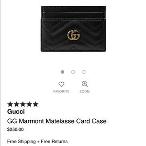 Gucci Bags - Authentic GUCCI carholder